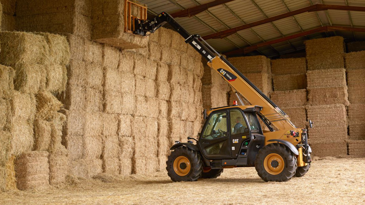 Cat Telehandler TH3510D