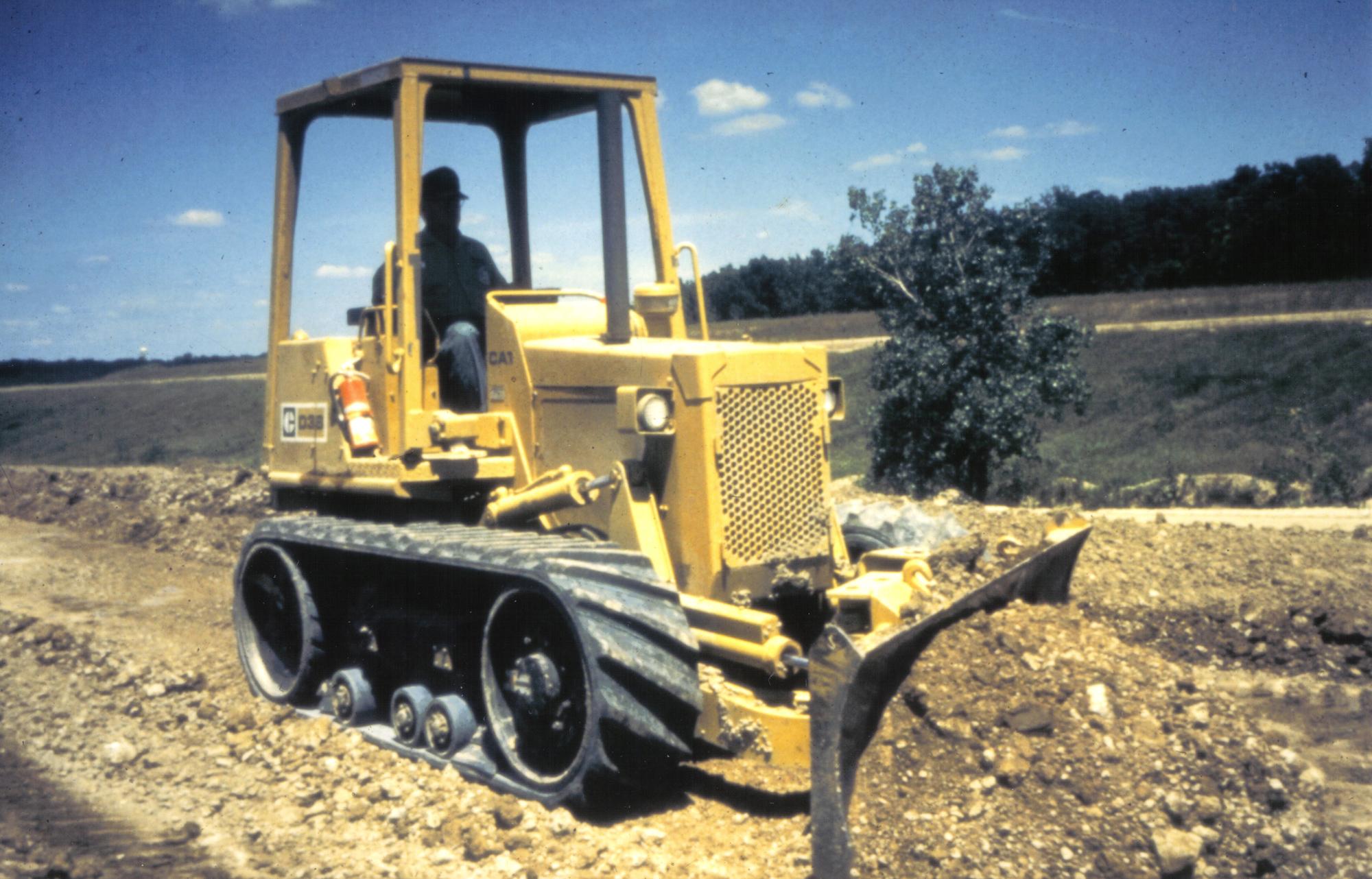 Cat D38 Mobil-Trac