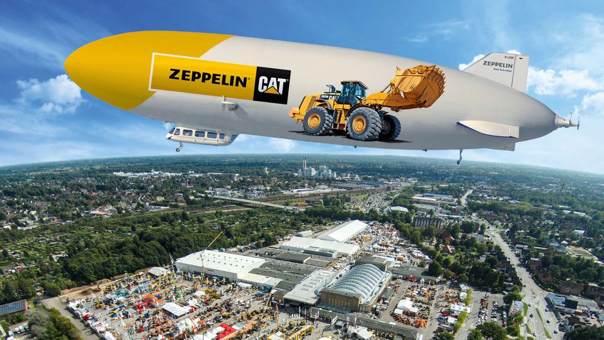 2017, Träger für Technologien, Zeppelin Luftschiff
