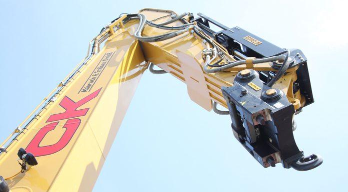 2017, Prädestiniert für den Abbruch, CK Abbruch und Erdbau GmbH, Cat Kettenbagger 336FLN