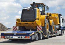 2017, Baumaschinentransporte ohne Verzug