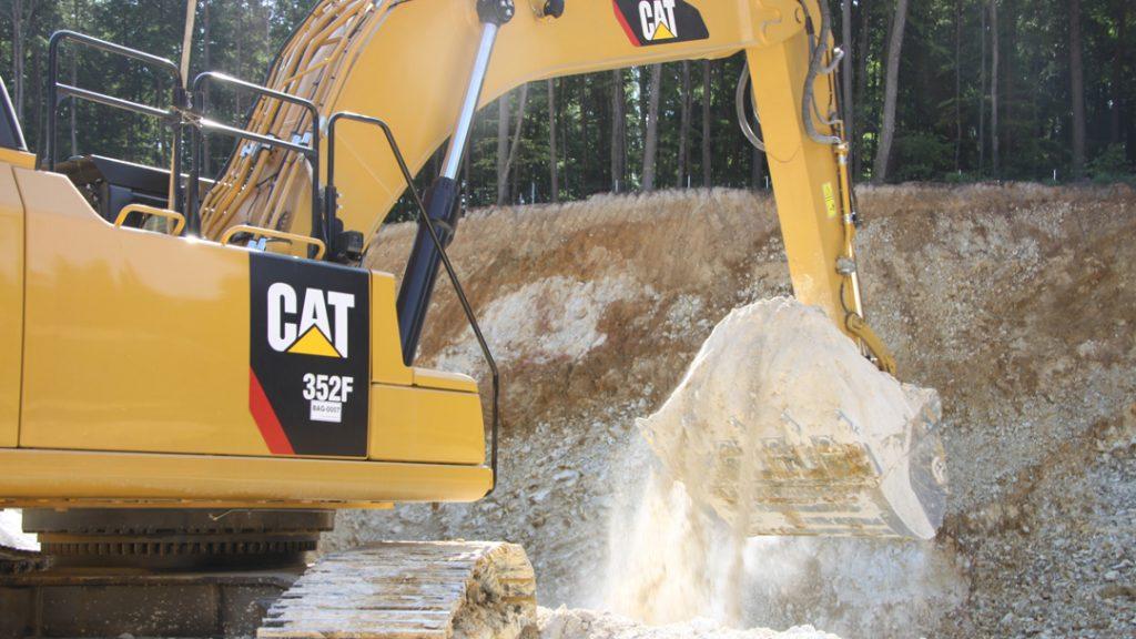 Cat Kettenbagger 352F