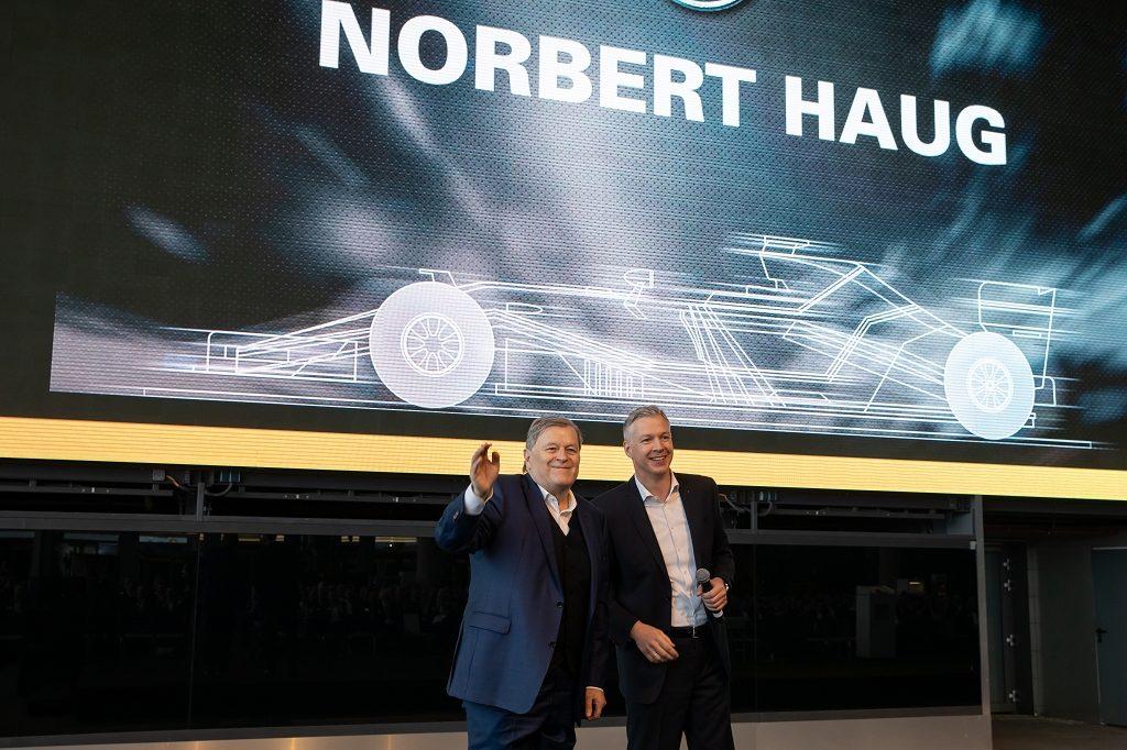 Norbert Haug und Fred Cordes