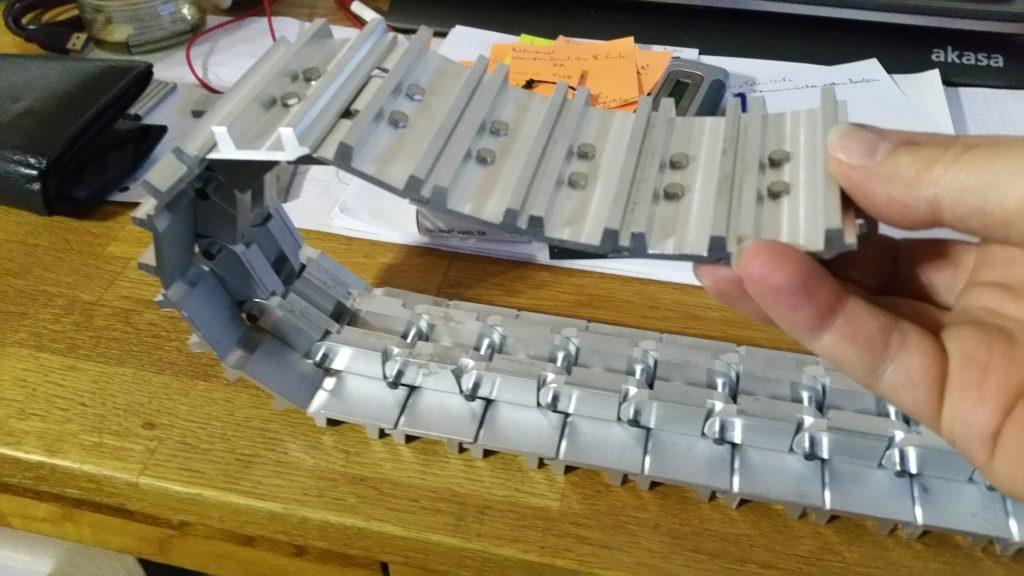 Modellbau Kettenlaufwerk