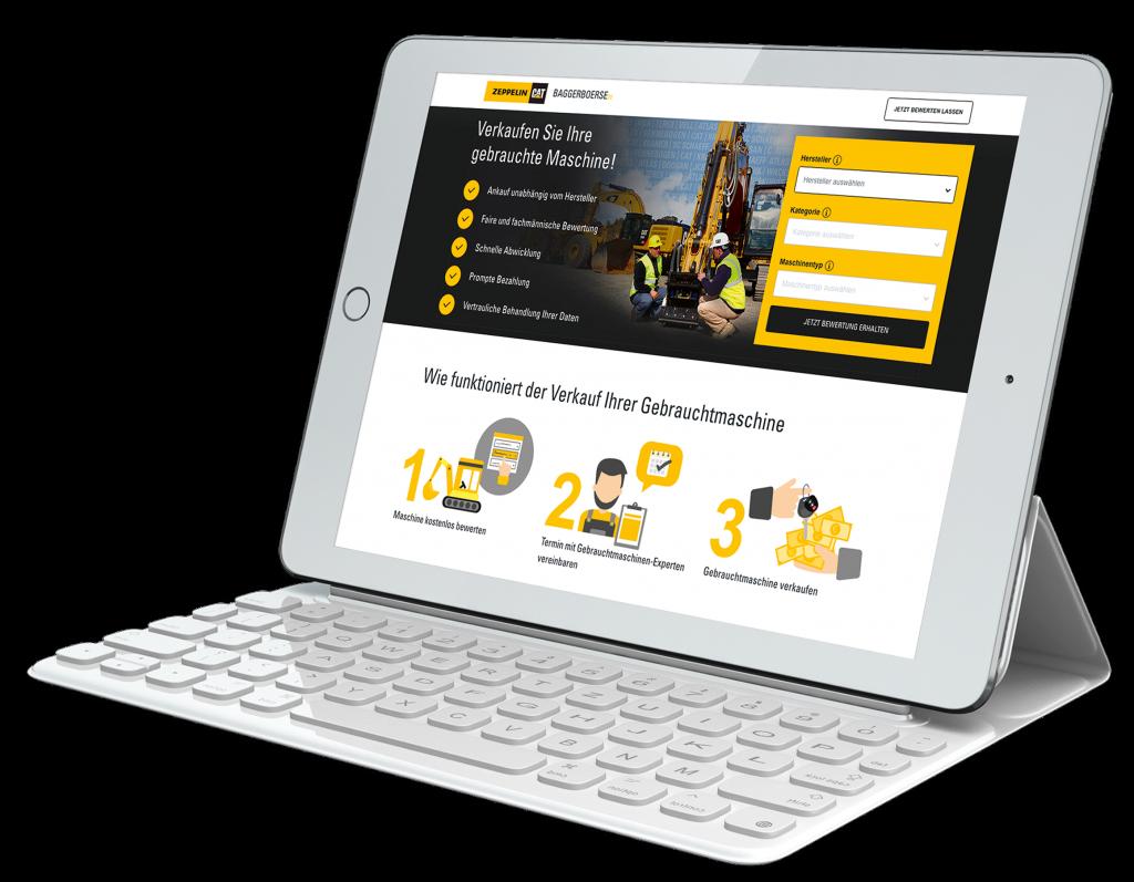 Online-Baggerbörse