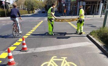 Fahrrad-Offensive rollt