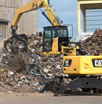 Cat Umschlagbagger MH3026
