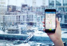 Bau- und Immobilienprojekten mittels Smartphone